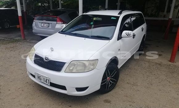 Buy Used Toyota Fielder White Car in Suva in Central