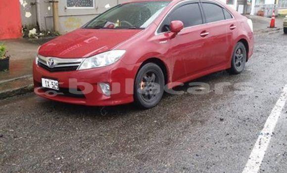 Buy Used Toyota Sai Red Car in Nasinu in Central