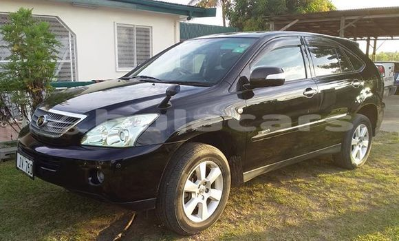 Buy Used Toyota Harrier Black Car in Ba in Western
