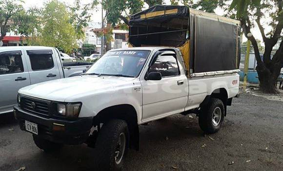 Buy Used Toyota Hilux White Car in Labasa in Northern