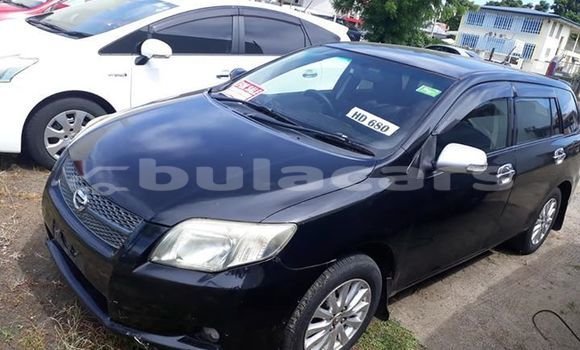 Buy Used Toyota Fielder Black Car in Lautoka in Western