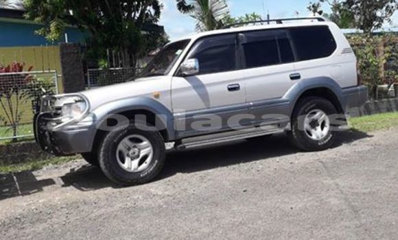Buy Used Toyota Land Cruiser Prado Silver Car in Suva in Central