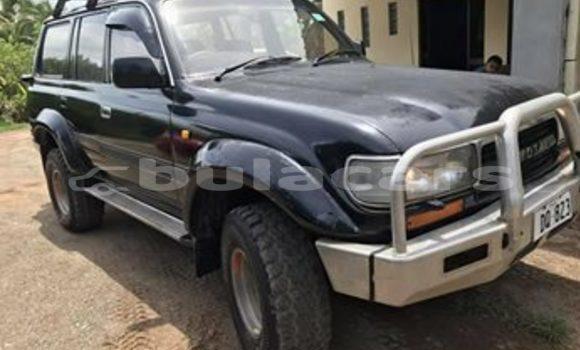 Buy Used Toyota Landcruiser Black Car in Nadi in Western