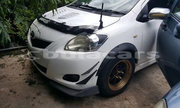 Buy Used Toyota Yaris White Car in Lautoka in Western