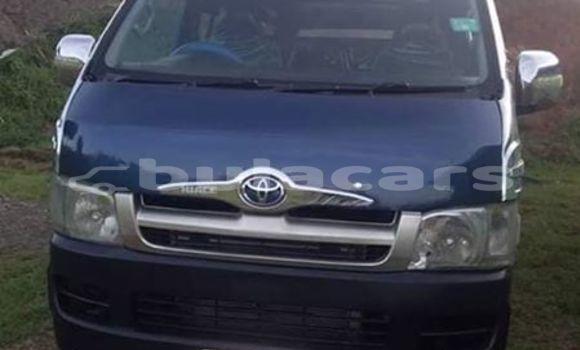 Buy Used Toyota Hiace Blue Car in Nadi in Western