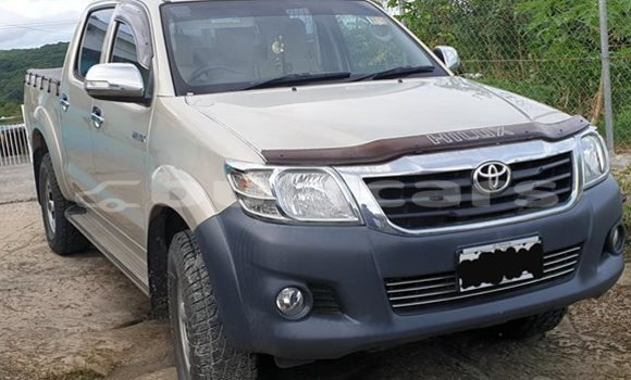 Buy Used Toyota Hilux Silver Car in Nadi in Western