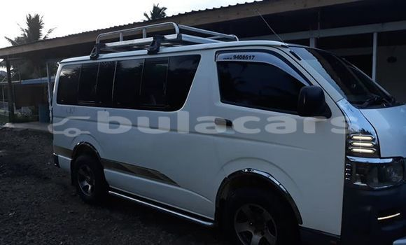 Buy Used Toyota Hiace White Car in Labasa in Northern