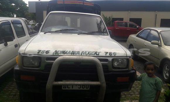Buy Used Toyota Hilux White Car in Nadi in Western