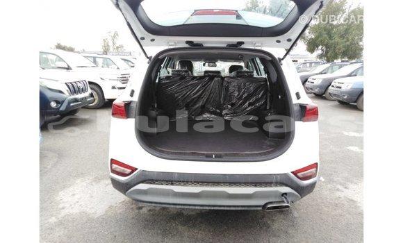Buy Import Hyundai Santa Fe White Car in Import - Dubai in Central