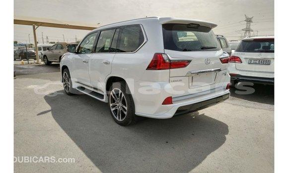 Buy Import Lexus LX White Car in Import - Dubai in Central