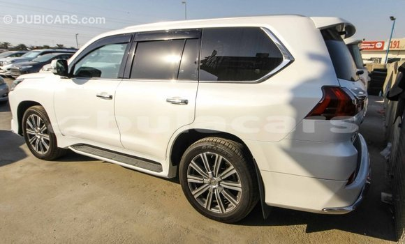 Buy Import Lexus LX White Car in Import - Dubai in Central