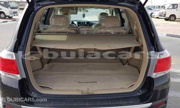 Buy Import Toyota Highlander Black Car in Import - Dubai in Central