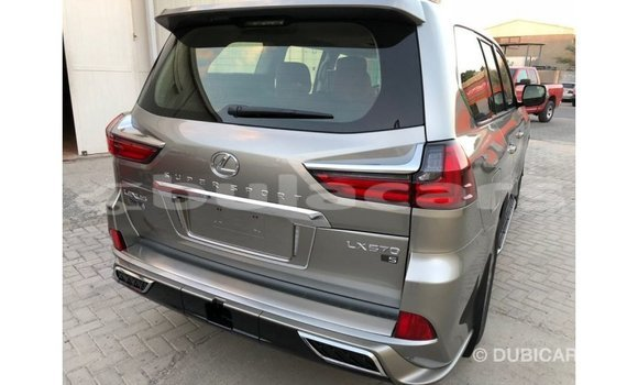 Buy Import Lexus LX Grey Car in Import - Dubai in Central