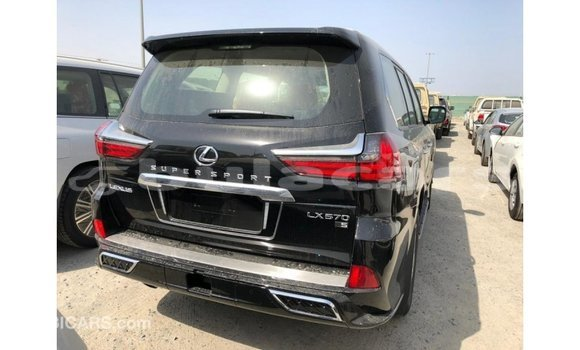 Buy Import Lexus LX Black Car in Import - Dubai in Central