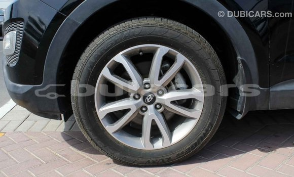 Buy Import Hyundai Santa Fe Black Car in Import - Dubai in Central