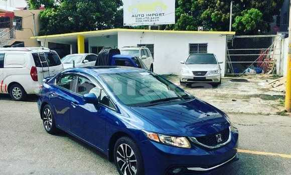 Buy New Honda Civic Blue Car in Komave in Western