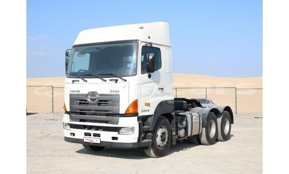Buy Import Hino 300 Series White Truck in Import - Dubai in Central