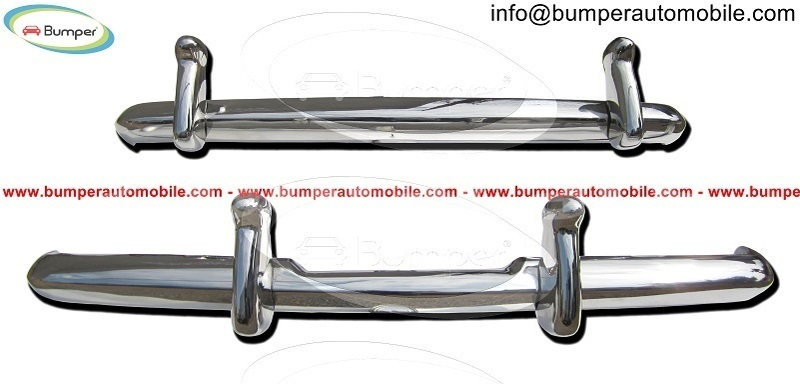 Big with watermark rolls royce silver cloud bumper by stainless steel 1