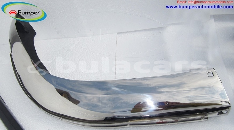 Big with watermark bmw 2800 cs bumper in stainless steel 2