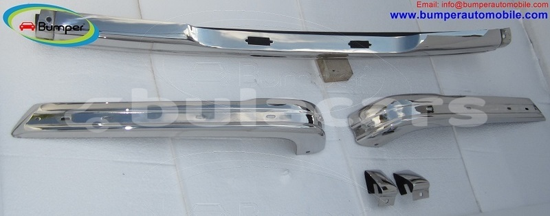 Big with watermark bmw e21 bumper 1975 1983 by stainless steel 3
