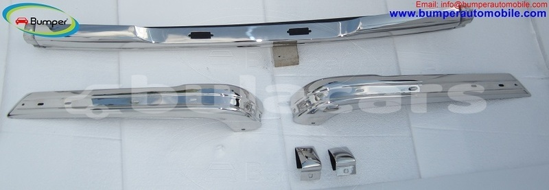 Big with watermark bmw e21 bumper 1975 1983 by stainless steel 2