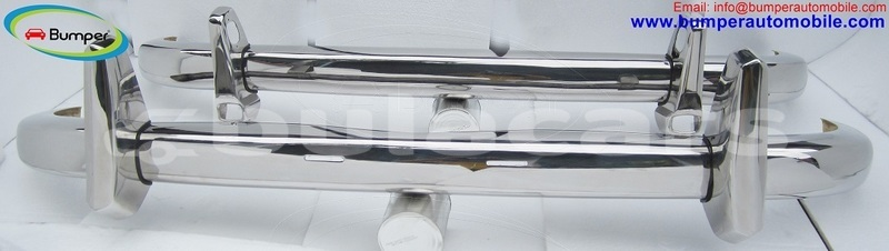 Big with watermark mercedes ponton 220s w180 bumper 1954 1960 by stainless steel