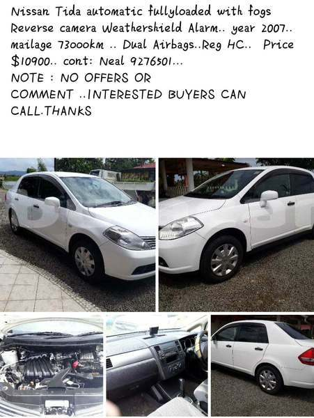 Big with watermark nissan tiida central pacific harbour 7862