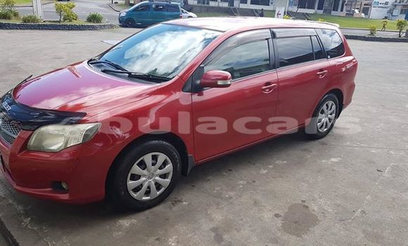 Buy Used Toyota Fielder Red Car in Suva in Central