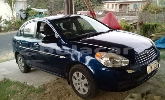 Buy Used Hyundai Accent Blue Car in Lautoka in Western