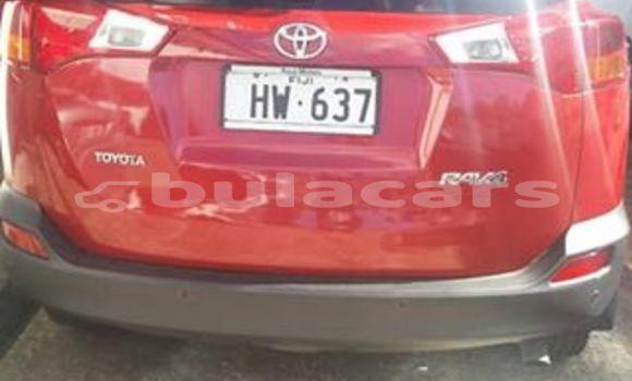 Buy Used Toyota RAV4 Red Car in Suva in Central