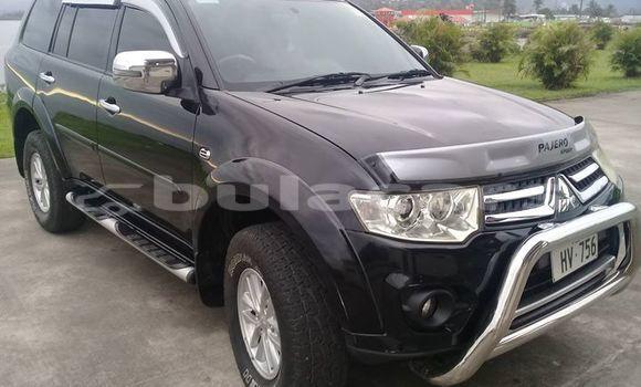 Buy Used Mitsubishi Pajero Black Car in Suva in Central