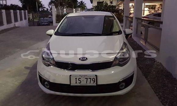 Buy Used Kia Rio White Car in Suva in Central