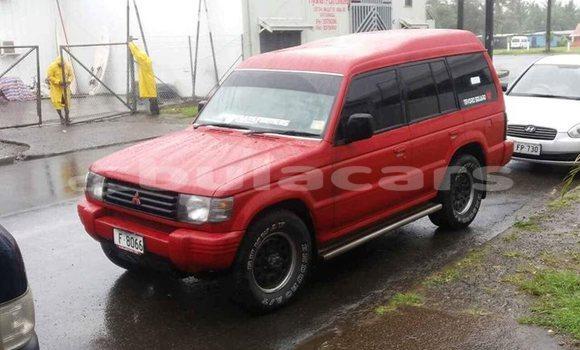 Buy Used Mitsubishi Pajero Red Car in Suva in Central