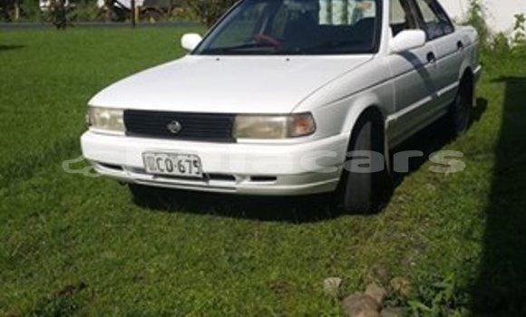 Buy Used Nissan Sunny White Car in Suva in Central