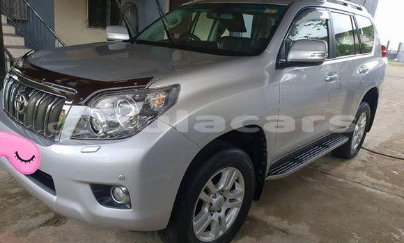 Buy Used Toyota LandcruiserPrado Silver Car in Suva in Central
