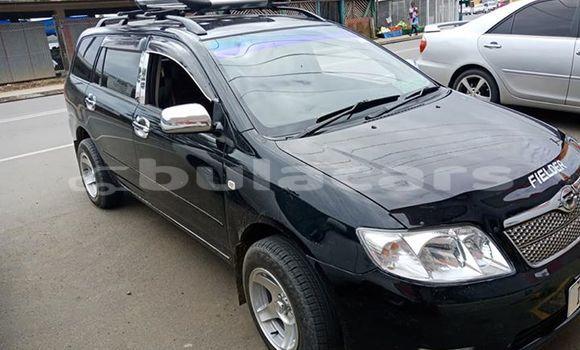 Buy Used Toyota Fielder Black Car in Suva in Central