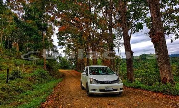Buy Used Toyota Wish White Car in Suva in Central