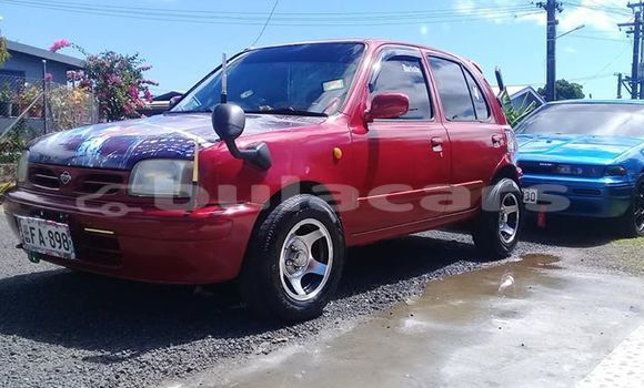 Buy Used Nissan March Red Car in Suva in Central