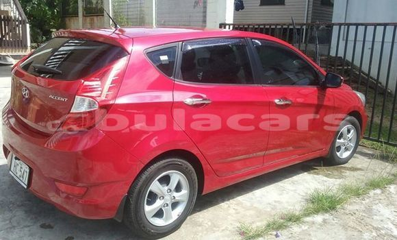 Buy Used Hyundai Accent Red Car in Suva in Central