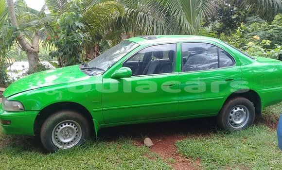 Buy Used Toyota Sprinter Green Car in Suva in Central