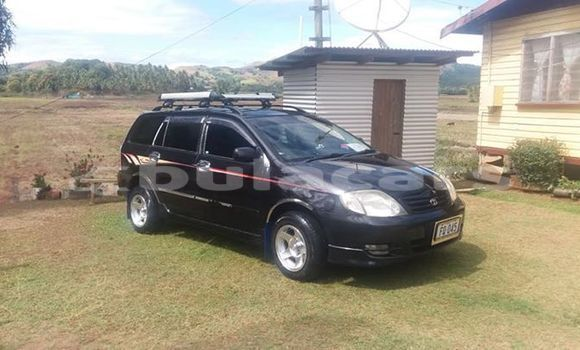 Buy Used Toyota Fielder Black Car in Labasa in Northern