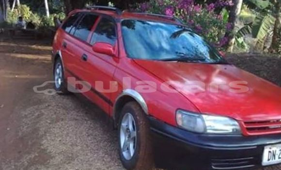 Buy Used Toyota Caldina Red Car in Lautoka in Western