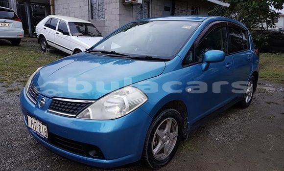 Buy Used Nissan Tiida Blue Car in Suva in Central