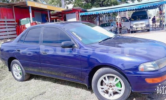 Buy Imported Toyota Carina Blue Car in Nadi in Western