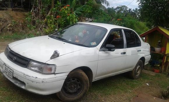 Buy Used Toyota Corsa White Car in Suva in Central