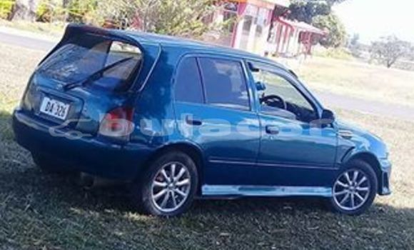 Buy Used Toyota Starlet Blue Car in Nadi in Western