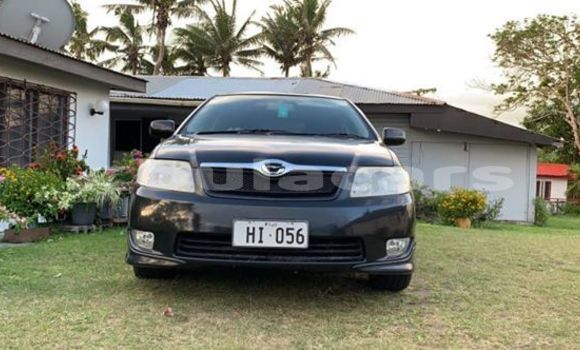 Buy Used Toyota Fielder Black Car in Nadi in Western