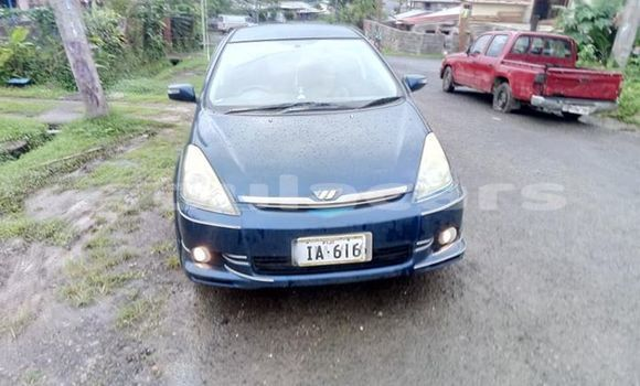 Buy Used Toyota Wish Blue Car in Suva in Central