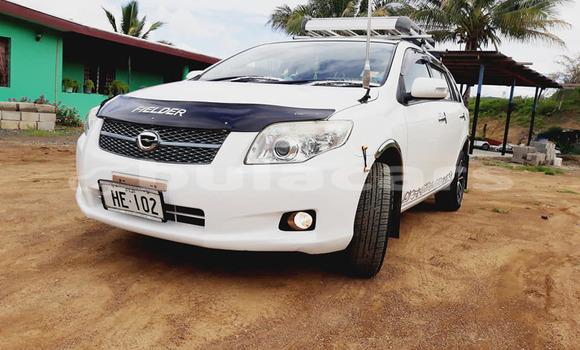 Buy Used Toyota Fielder White Car in Suva in Central