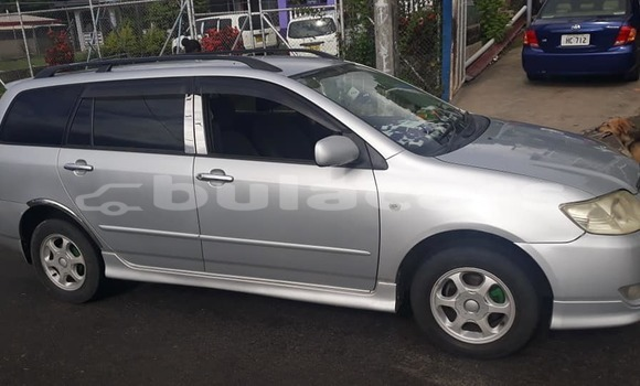 Buy Used Toyota Fielder Silver Car in Lautoka in Western